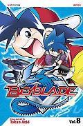 Beyblade, Volume 8 - Takao Aoki - Paperback