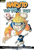 Naruto: Chapter Book, Vol. 10: The First Test (Naruto Chapter Books)