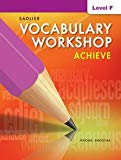 Vocabulary Workshop Achieve Level F Grade 11