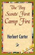Boy Scouts' First Camp Fire