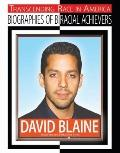 David Blaine (Transcending Race in America: Biographies of Biracial Achievers)