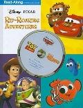3-in-1 Read-Along Storybook and CD: DisneyPixar Rip-Roaring Adventures