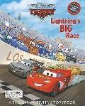 Lightning's Big Race: A Sticker-Activity Storybook