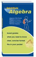 Quickstudy for Algebra