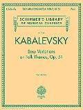 Easy Variations on Folk Themes, Op. 51 Easy Variations on Folk Themes, Op. 51