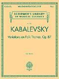 Variations on Folk Themes, Op. 87 Variations on Folk Themes, Op. 87