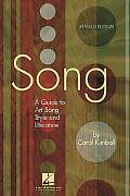 Song A Guide to Art Song Style And Literature