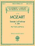 Violin Sonata in E Minor, K. 304 (Violin/Piano)