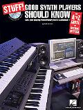 Stuff! Good Synth Players Should Know: An A-Z Guide to Getting Better (Book & CD)