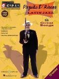 Paquito D'rivera Latin Jazz Jazz Play-Along Vol 122 Bk/Cd (Jazz Play-Along Series)