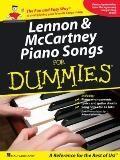 Lennon & Mccartney Piano Songs For Dummies (Piano/Vocal/Guitar Songbook)