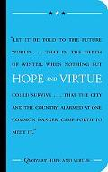 Quotes On Hope and Virtue