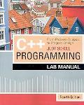 C++ Program.: From Prob. Anal. Lab. Man.
