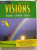 Visions Language Literature Content Teacher Edition Book A