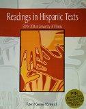 Readings in Hispanic Texts