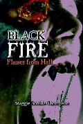 Black Fire Flames from Hell