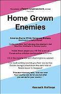 Home Grown Enemies: America Burns While Congress Bickers