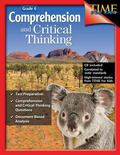 Comprehension and Critical Thinking Grade 6 Time for Kids +CD