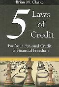 5 Laws of Credit For Your Personal Credit And Financial Freedom