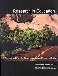 Research in Education A Student and Faculty Guide to Writing a Research Study