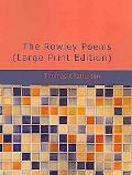 Rowley Poems