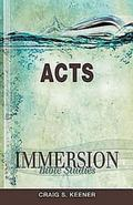Immersion Bible Studies - Acts