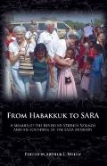 From Habakkuk to SARA: A memoir of the Reverend Stephen Szilagyi and his Founding of the SAR...