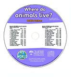 Where Do Animals Live? - CD Only (My World)