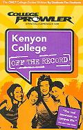 College Prowler Kenyon College Off the Record Gambier, Ohio