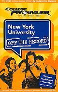 College Prowler New York University New York, New York