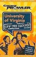 College Prowler University of Virginia Charlottesville, Virginia