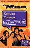 Kenyon College 2012: Off the Record