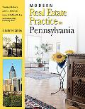 Modern Real Estate Practice in Pennslyvania, 11th Edition