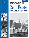 Wisconsin Real Estate Practice and Law, 11th Edition Update