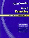 Kaplan Pmbr Finals Remedies Core Concepts and Key Questions