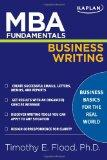 MBA Fundamentals Business Writing (Kaplan MBA Fundamentals)