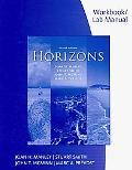 Horizons-Cahier D'act. Ecrites...