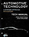 Tech Manual for Erjavec's Automotive Technology: A Systems Approach, 5th