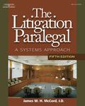 Litigation Paralegal A Systems Approach