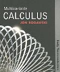 Multivariable Calculus: Early Transcendentals (Paper)