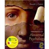 Fundamentals of Abnormal Psychology (Loose Leaf)