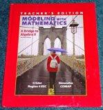 Modeling With Mathematics A Bridge to Algebra II Second Edition Teacher's Edition Region 4 E...