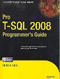 T-SQL 2008 Programmer's Guide