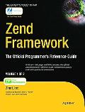 Zend Framework: The Official Programmers Reference Guide