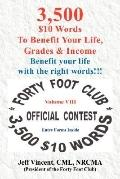 3,500 $10 Words to Benefit Your LI Fe, Grades and Income
