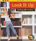 Look It Up: Finding Information (Heinemann First Library)