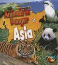 Animals in Danger in Asia (Heinemann First Library)