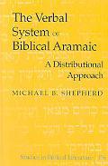 Verbal System of Biblical Aramaic