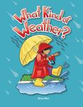 What Kind of Weather? Lap Book: Weather (Literacy, Language and Learning)