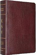 The ESV Study Bible: Bonded Leather, Burgundy